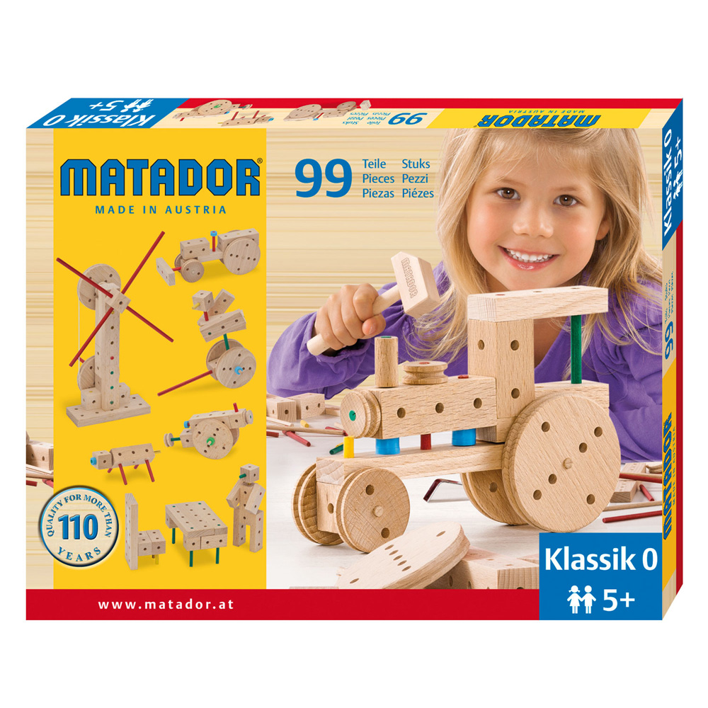 Matador Klassik 0 Main Kit (99 pieces)