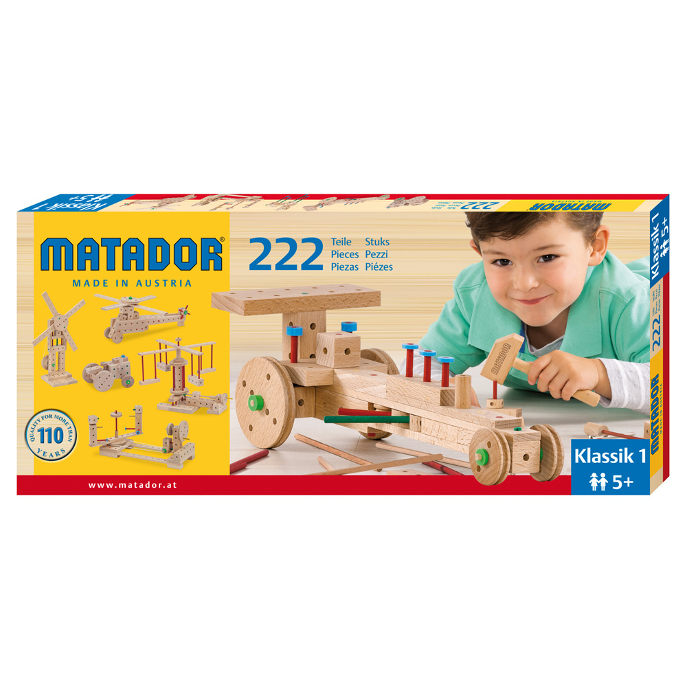Matador Klassik 1 Main Kit (222 pieces)