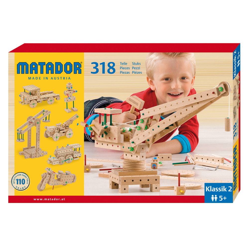 Matador Klassik 2 Main Kit (318 pieces)