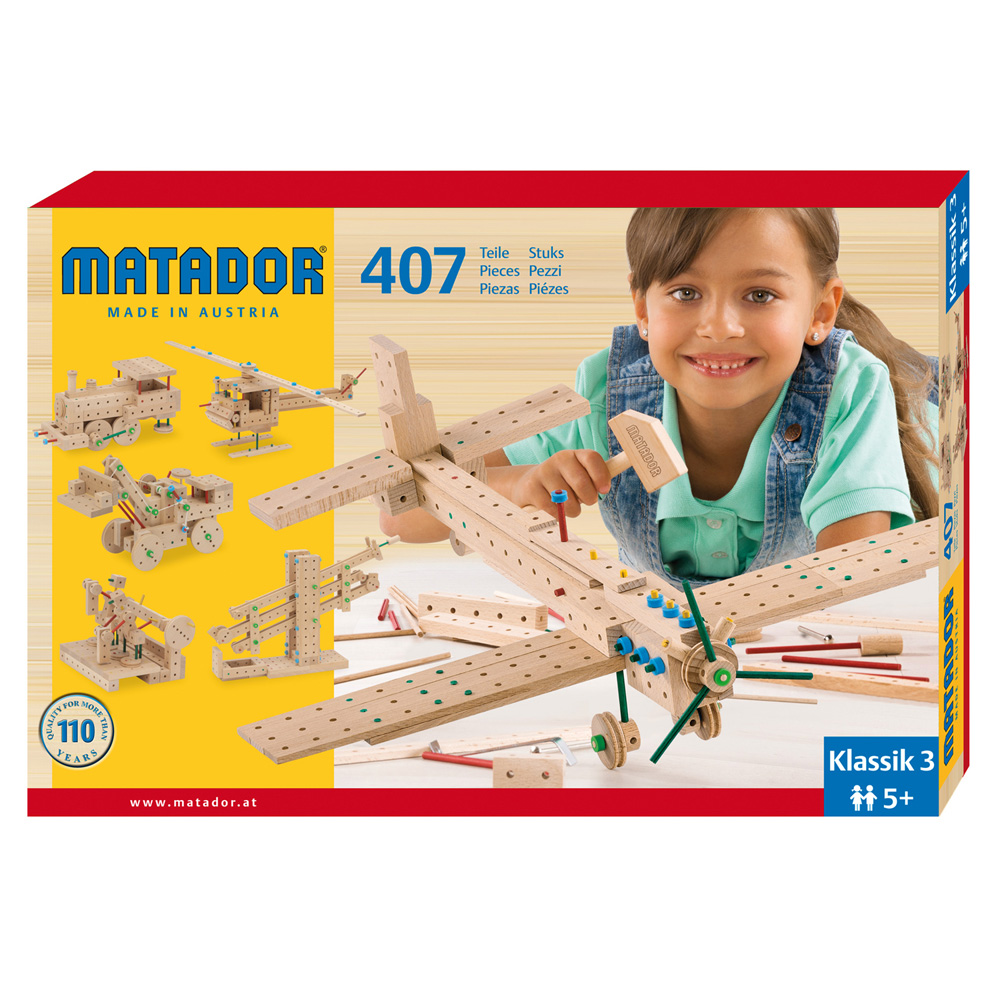 Matador Klassik 3 Main Kit (407 pieces)