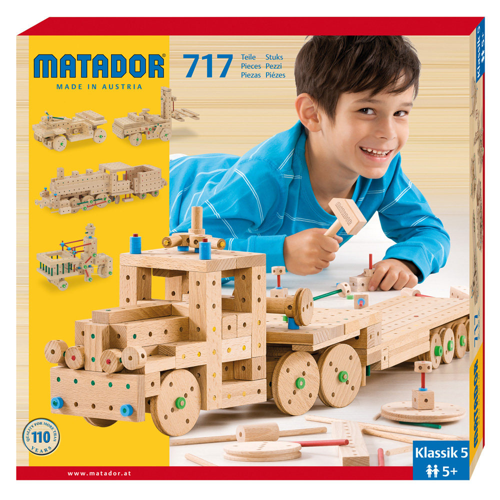 Matador Klassik 5 Main Kit (717 pieces)